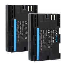 2x Akku für Canon LP-E6N | 60366 | 2040mAh| EOS 70D 60D 7D 6D Mark III / IV XC10