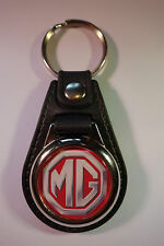 MG FAUX LEATHER KEY RING / KEY FOB.