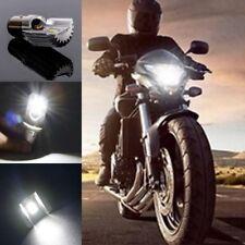 H6 White Motorcycle LED Bulb Front Hi/Lo Beam Head Light Lamp BA20D DC 6-80V 12W