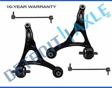 NEW 4pc Front Suspension Control Arm + Sway Bar Kit for 2003 - 2009 Volvo XC90