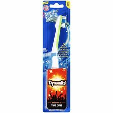 "Tooth Tunes Taio Cruz ""Dynamite"" Singing Toothbrush. NIP"