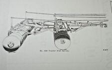 IH International Farmall 9BA Pull Drag Disk Harrow Owner's + Parts Manual Cub SA