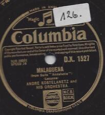 Andre Kostelanetz et son orchestre-Mexicana + MALAGUENA