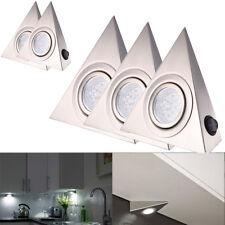5X Dreieck LED Möbelschrankleuchte Küchenlampe Unterbauleuchte Strahler Kaltweiß