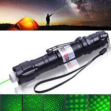 5mw 5 Light Patterns Green Laser Flashlight High Power Gypsophila Laser Pen