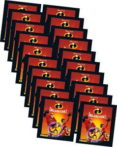 Panini - Die Unglaublichen 2 - Serie 2 - Sammelsticker - 100 Sticker - 20 Tüten