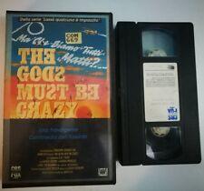 VHS MA CHE SIAMO TUTTI MATTI - THE GODS MUST BE CRAZY di Jamie Uys [CBS FOX]