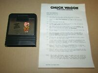 Chase The Chuck Wagon With Manual for Atari 2600 Fast Shipping! Authentic