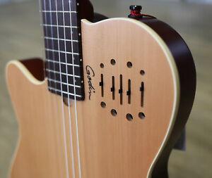 Godin Multiac Nylon Encore Natural SG Left-Handed | Linkshänder Hybrid Gitarre