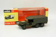 Solido France 1/43 - DODGE 6X6  Militaire