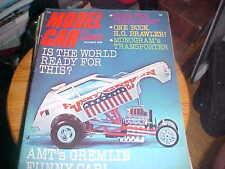 Model Car science october 1970 Slot Cars - models