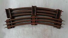 More details for 8x vintage railway hornby series 3-rail o gauge curve tracks
