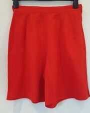 BHS Size UK 14 smart/casual red shorts