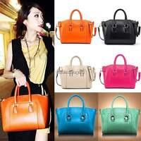 New Womens Bags Ladies Fashion Tote Bags Faux Leather Designer Shoulder Handbags