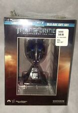 Transformers: Revenge of the Fallen Blu-ray w/ Optimus Prime Mini Head Sideshow