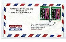 HONDURAS Cover *Olanchito* Air Mail MIVA Missionary AUSTRIA 1977{samwells}CM170