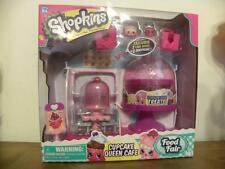 Shopkins Small Mart New in Box Cupcake Queen Cafe Food Fair