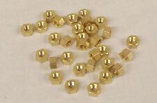 CLASSIC Mini Collettore di Scarico in Ottone Nuts-Set di 6 * 5/16 UNF *