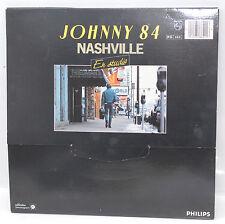 DISQUE VINYL 2 X 33T JOHNNY HALLYDAY 84 NASHVILLE  OCCASION
