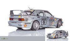 Mercedes-Benz 190E 2.5-16 Evo 2 #6 DTM Rosberg 1:18 Minichamps