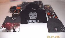LOOT CRATE CALL OF DUTY BLACK OPS III LOT ~SWEATSHIRT,SHIRT,BACKPACK,GLOVES++