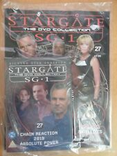 DVD COLLECTION STARGATE SG 1 PART 27 + MAGAZINE - NEW SEALED IN ORIGINAL WRAPPER