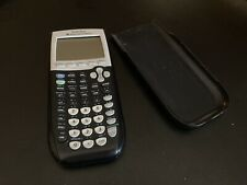 Texas Instruments TI-84 Plus Black Graphing Calculator - Tested and Working!