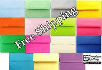 Multi Assorted Color Envelopes for Photo Invitation Announcements Cards A2 A6 A7