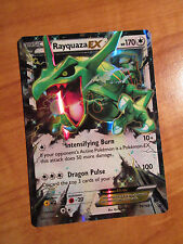 PL Pokemon RAYQUAZA EX Card ROARING SKIES Set 75/108 XY X and Y Ultra Rare 170HP