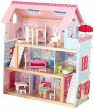 KidKraft Dollhouses Chelsea Doll Cottage with Furniture