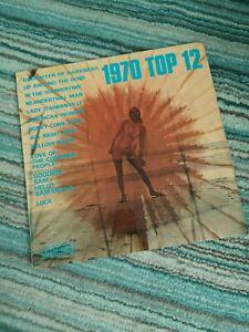 Elton John - 1970 Top 12 Rare Covers Vinyl LP Near Mint