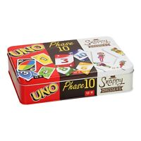 Mattel Uno, Phase 10, Snappy Dressers Card Games for Age 7+