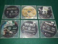 Lot Of 6 PS3 Games Call Of Duty Black Ops,  Advanced Warfare, MW2, MW3, Ghosts