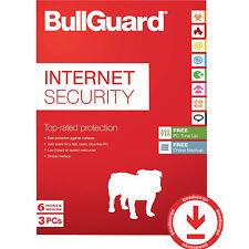 New BullGuard OEM 3PC, 1 Year Internet Security - OEM [No Media]