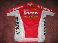 SAECO ESTRO CANNONDALE ITALIAN CYCLING JERSEY [M]..
