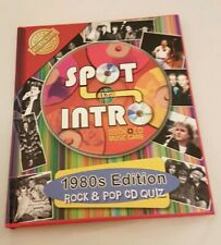 Spot The Intro 1980's Edition Book