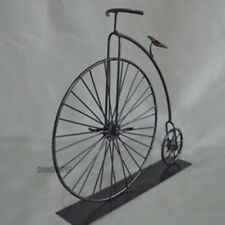 Metal Model Bicycle Bike Table Ornament Home Decor Craft Novelty Vintage Black