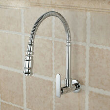 Single Handle Kitchen Faucet Cold Water Faucet Wall Mounted Brass Kitchen Taps