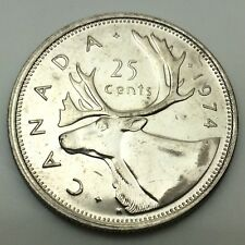 1978 Canadian 25 Cents Quarter Canada Uncirculated Coin C711