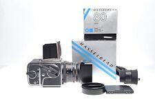 Hasselblad 501CM + Carl Zeiss Planar 80 mm f/2,8 CF + Magazin A12