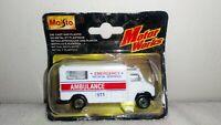 Maisto Ambulance Diecast & Plastic Boxed