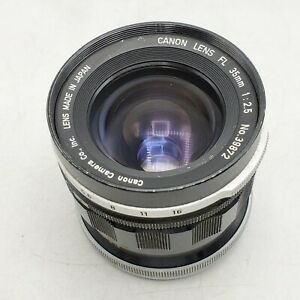 Canon FL 35mm F2.5 Wide Angle Manual Focus Prime Lens for SLR/Mirrorless Cameras