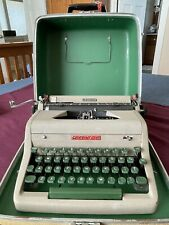 Royal Aristocrat Portable Typewriter Clean Serviced New Ribbon Tested Withcase