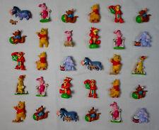 Disney Panini Lot Of 30 x Plastic 2'' Figurines Winnie The Pooh Eeyore Piglet