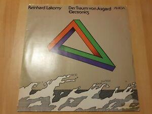 Reinhard Lakomy Der Traum von Asgard Electronics AMIGA LP