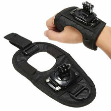 Deluxe 360 Degree Rotation Wrist Hand Strap Band Mount for Gopro Hero 3, 4 LARGE