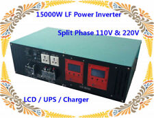 60000W/15000W LF Split Phase Pure Sine Wave 48VDC/110V,220VAC 60Hz PowerInverter