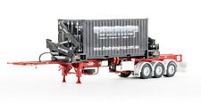 Drake ZT09247 O'phee Boxloader Side Loading Trailer & Container Red 1 50