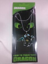 How to Train Your Dragon Cosplay Toothless Night Fury Keychain Pendant Necklace
