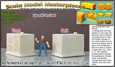 Commercial/Rooftop A/C Unit #2-Lg Scale Model Masterpieces/Yorke HOn3/HOn30/1;87